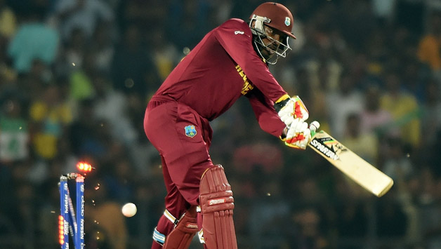 West-Indies-batsman-Chris-Gayle-is-bowled